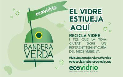 Sant Josep se suma al #movimientoBanderasVerdes con 1.143,26 toneladas de envases de vidrio recogidos.