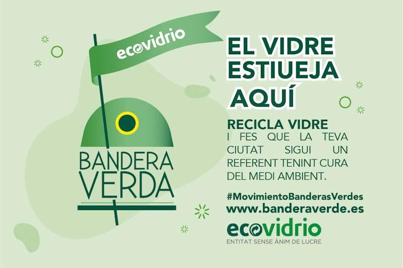 Sant Josep es suma al #movimientoBanderasVerdes amb 1.143,26 tones d'envasos de vidre recollits.