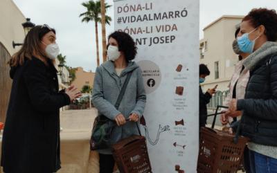 Sant Josep ya ha gestionado 400 toneladas de materia orgánica gracias al esfuerzo de todos
