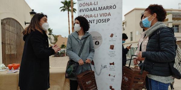 Sant Josep ja ha gestionat 400 tones de matèria orgànica gràcies a l'esforç de tots